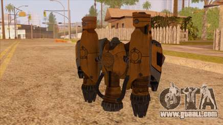 New Jetpack v1 for GTA San Andreas