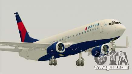 Boeing 737-800 Delta Airlines for GTA San Andreas