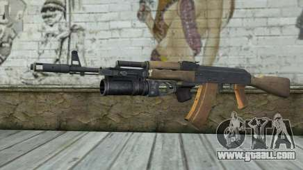 AK-74 To secure our for GTA San Andreas
