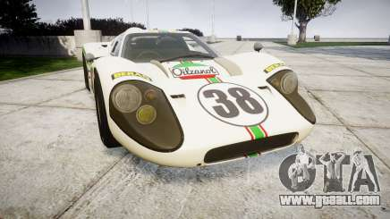 Ford GT40 Mark IV 1967 PJ Oilzanol 38 for GTA 4