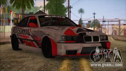 BMW E36 Coupe Bridgestone for GTA San Andreas