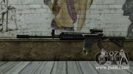 M4A1 from COD Modern Warfare 3 for GTA San Andreas