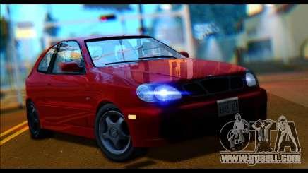 Daewoo Lanos Sport US 2001 for GTA San Andreas