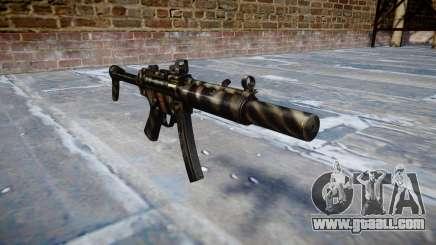 Gun MP5SD DRS FS c target for GTA 4