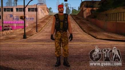 Guerilla from Counter Strike Condition Zero for GTA San Andreas
