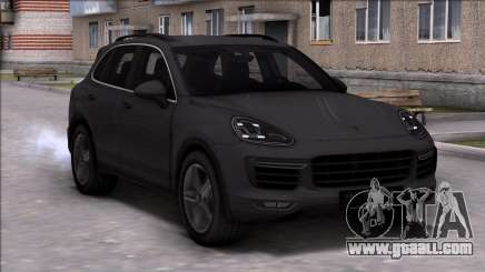 Porsche Cayenne Turbo 2015 for GTA San Andreas