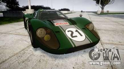 Ford GT40 Mark IV 1967 PJ Mixlub 21 for GTA 4