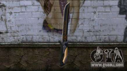 Olga Knife from Remember Me for GTA San Andreas