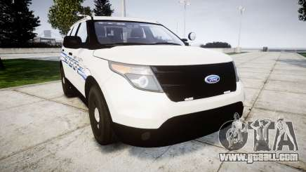 Ford Explorer 2013 [ELS] Liberty County Sheriff for GTA 4