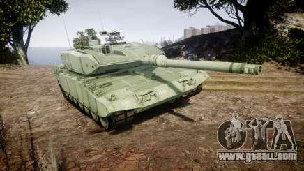 Leopard 2A7 GR Green for GTA 4