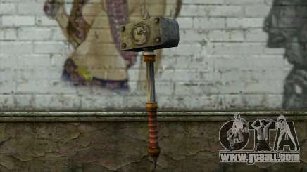 Shao Kahn Hammer From Mortal Kombat 9 for GTA San Andreas