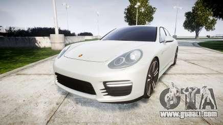 Porsche Panamera GTS 2014 for GTA 4