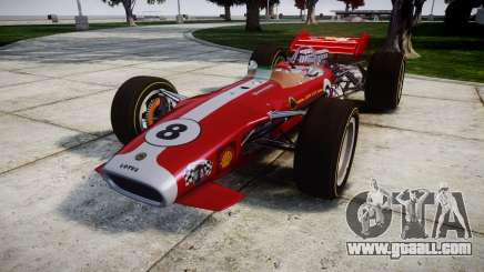 Lotus 49 1967 red for GTA 4