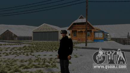 Winter jacket for GTA San Andreas
