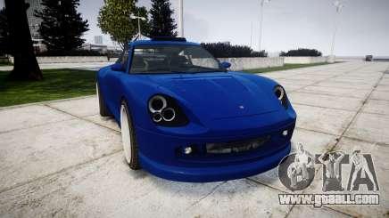 Pfister Comet Turbo v2.0 for GTA 4