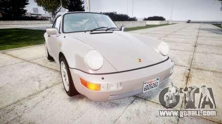 Porsche 911 (964) Coupe for GTA 4