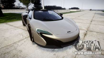 McLaren 650S Spider 2014 [EPM] v2.0 for GTA 4