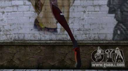 Bloody Machete from Far Cry for GTA San Andreas
