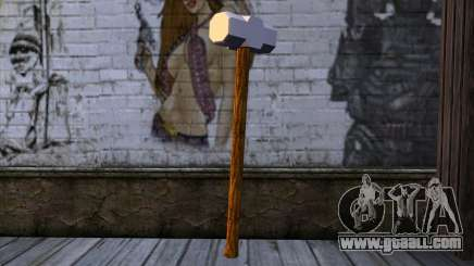 Sledgehammer for GTA San Andreas