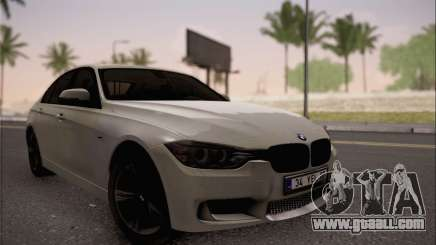BMW F30 320d for GTA San Andreas