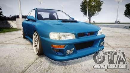 Subaru Impreza 22B Street for GTA 4