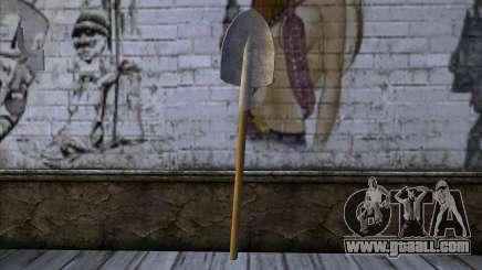 New Shovel for GTA San Andreas