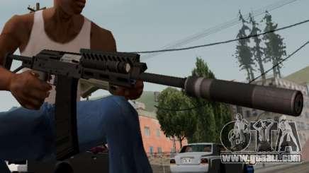 Heavy Shotgun GTA 5 (1.17 update) for GTA San Andreas