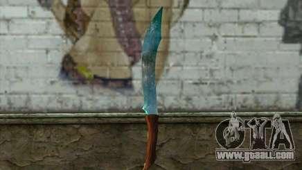 Diamond knife for GTA San Andreas
