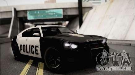 Bravado Buffalo S Police Edition (IVF) for GTA San Andreas