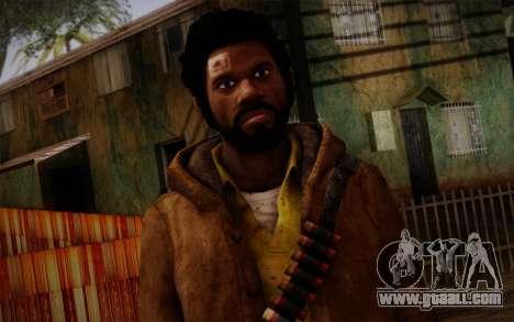 Louis from Left 4 Dead Beta for GTA San Andreas third screenshot