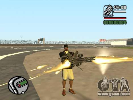 Dual ownership of all weapons for GTA San Andreas fifth screenshot