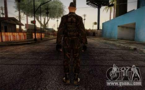 Soldier Skin 4 for GTA San Andreas second screenshot