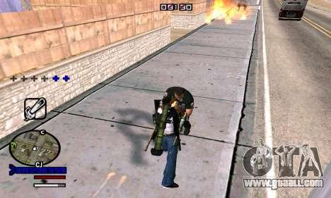 C-HUD Normal for GTA San Andreas