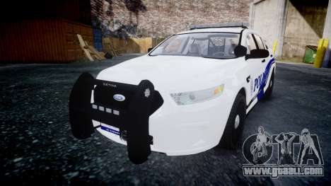 Ford Taurus 2014 Liberty City Police [ELS] for GTA 4