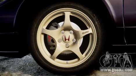 Honda NSX-R NA1 1992 [EPM] for GTA 4 back view