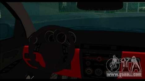 Mazda 3 for GTA San Andreas back left view