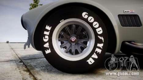 AC Cobra 427 PJ1 for GTA 4 back view