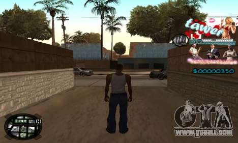 C-HUD Tawer GTA 5 for GTA San Andreas