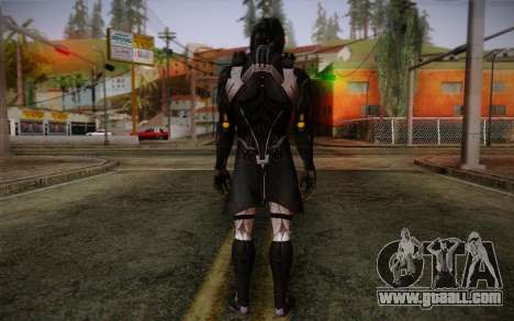 Kei Leng from Mass Effect 3 for GTA San Andreas second screenshot