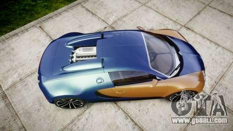 Bugatti Veyron 16.4 v2.0 for GTA 4 right view
