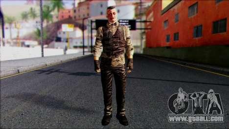 Outlast Skin 2 for GTA San Andreas