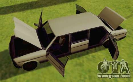 Admiral Limousine for GTA San Andreas right view
