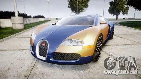 Bugatti Veyron 16.4 v2.0 for GTA 4