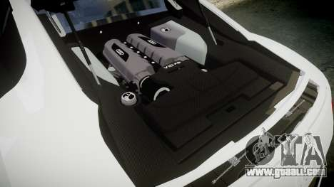Audi R8 V10 Plus 2014 for GTA 4 side view