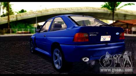 Ford Escort RS Cosworth for GTA San Andreas left view