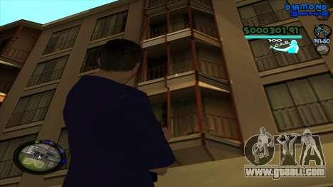C-HUD Lopez for GTA San Andreas forth screenshot