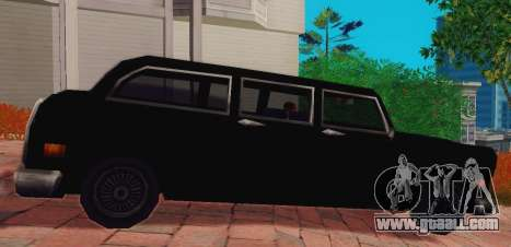 Cabbie Wagon for GTA San Andreas left view