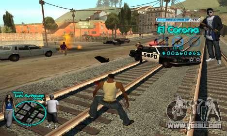 C-HUD Aztec El Corona for GTA San Andreas forth screenshot