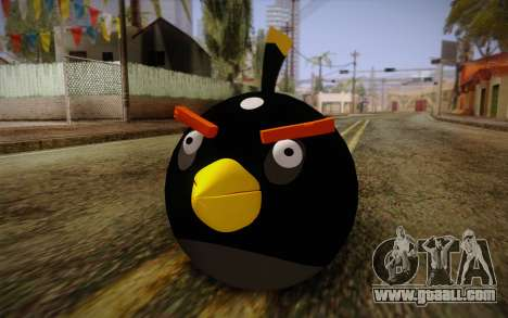 Black Bird from Angry Birds for GTA San Andreas