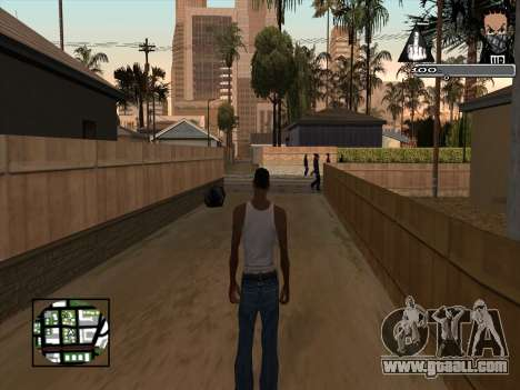 Marusya C-HUD for GTA San Andreas